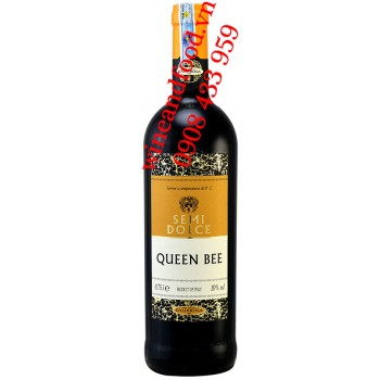 Rượu vang ngọt Semi Dolce Queen Bee 750ml