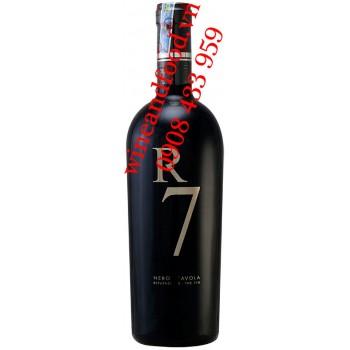 Rượu vang R7 Nero D'avola Reputazione The 7TH 750ml