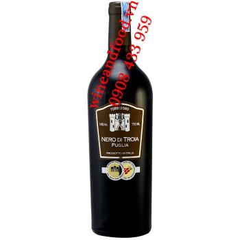 Rượu vang Torri D'oro Nero Di Troia Puglia IGT 750ml