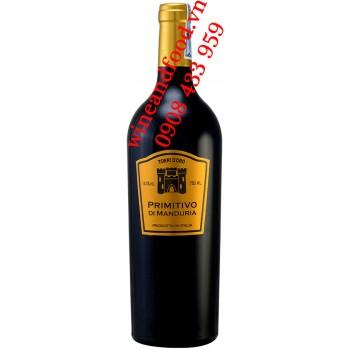 Rượu vang Torri D'Oro Primitivo di Manduria DOC 750ml