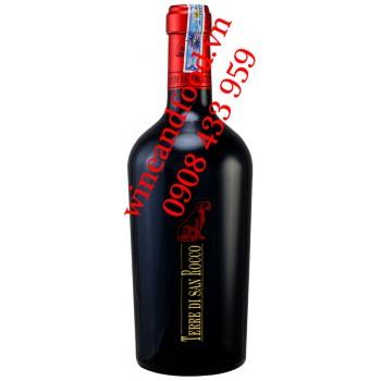 Rượu vang Ý Terre Di San Rocco 750ml