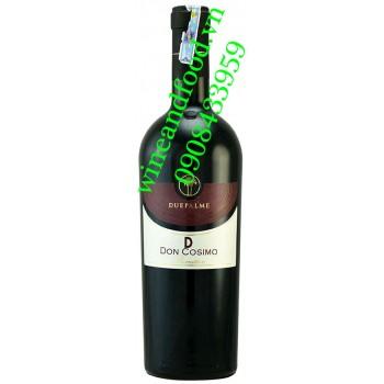 Rượu vang Duepalme Salento IGP Primitivo Don Cosimo