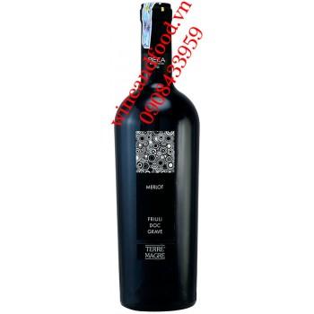 Rượu vang Friuli Grave Merlot DOC Piera 750ml