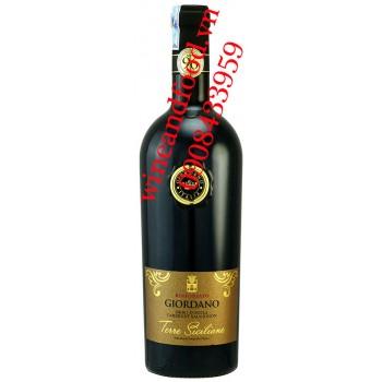 Rượu vang Giordano Terre Siciliane Nero D'avola 750ml