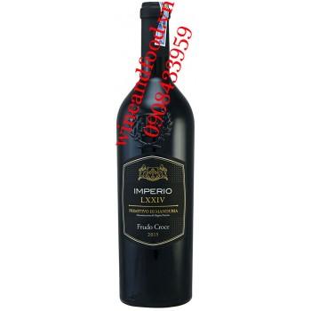 Rượu vang Imperio LXXIV Primitivo di Manduria DOP 750ml