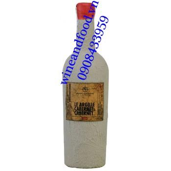 Rượu vang Le Argille Cabernet di Cabernet 750ml