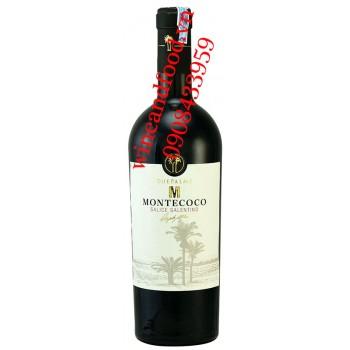 Rượu vang M Montecoco Salice Salentino Due Palme 750ml
