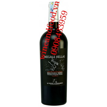 Rượu vang Megale Hellas Malvasia Nera Salento