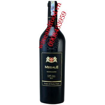 Rượu vang Megale Negroamaro Old Viner 750ml
