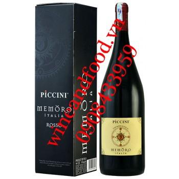 Rượu vang Memoro Piccini 1l5