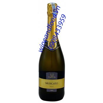 Rượu vang nổ Capetta Moscato Dolce 750ml
