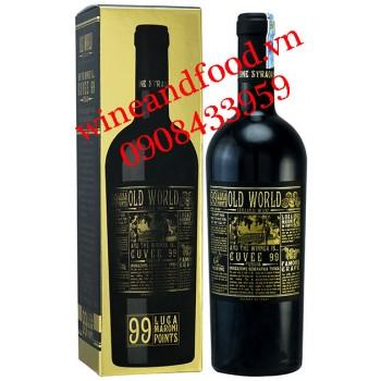 Rượu vang Old World Cuvee Puglia 99 IGT 750ml