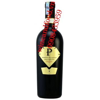Rượu vang P Primitivo Del Salento 750ml