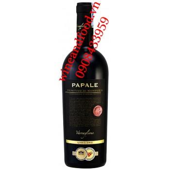 Rượu vang Papale Primitivo Di Manduria 750ml
