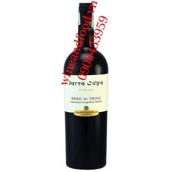 Rượu vang Parva Culpa Nero di Troia 750ml