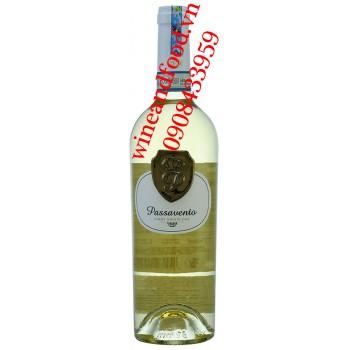Rượu vang Passavento Pinot Grigio DOC trắng 750ml