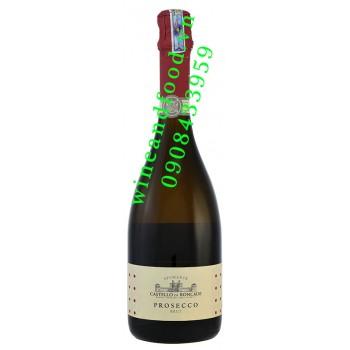 Rượu vang Prosecco Castello di Roncade Brut 750ml