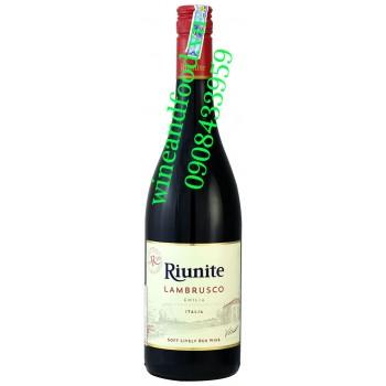 Rượu vang Riunite Lambrusco Emilia 750ml