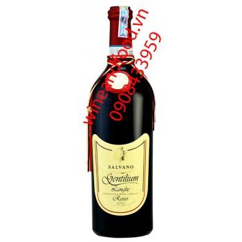 Rượu vang Salvano Langhe DOC Rosso Gentilium