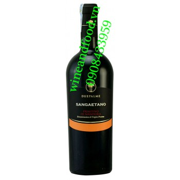 Rượu vang Sangaetano Primitivo di Manduria Due Palme