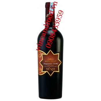 Rượu vang Sensi Mantello Toscana Sangiovese Shiraz