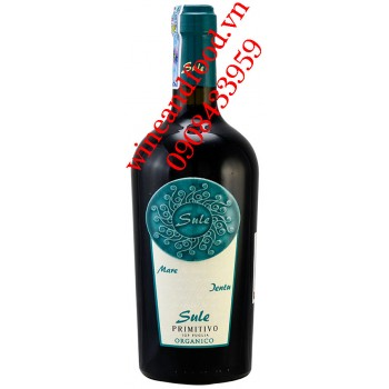 Rượu vang Sule Primitivo Organico IGP 750ml
