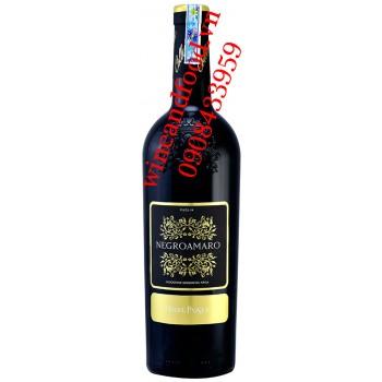 Rượu vang Terre Passeri Negroamaro Puglia 750ml