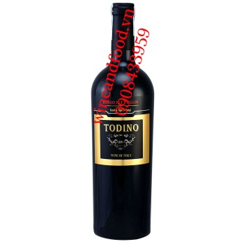Rượu vang Todino Rosso IGT Puglia 750ml