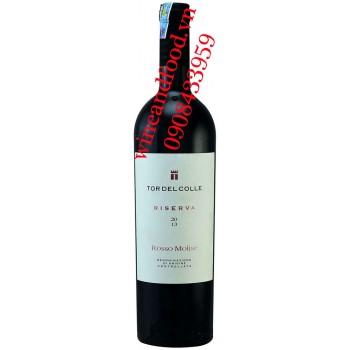 Rượu vang Tor Del Colle Riserva Rosso Molise 750ml