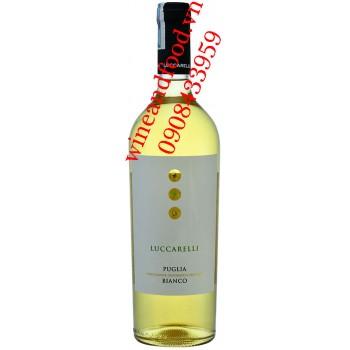 Rượu vang trắng Luccarelli Puglia Blanco IGP 750ml