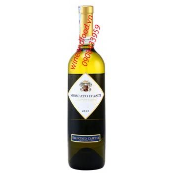 Rượu vang trắng Moscato D'asti 750ml