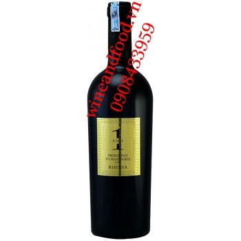Rượu vang Uno Primitivo di Manduria Riserva DOC 750ml