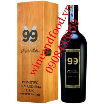 Rượu vang V99 Primitivo Di Manduria Salento 750ml