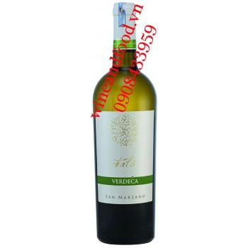 Rượu vang Verdeca Talo San Marzano IGP trắng