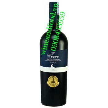 Rượu vang Verve Negroamaro Salento 750ml