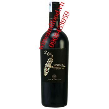 Rượu vang Vindoro Negroamaro con công 750ml