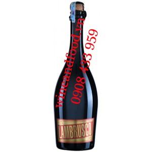 Rượu vang nổ Donelli Lambrusco 750ml