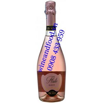 Rượu vang nổ Casa Burti Flute En Rose Extra Dry 750ml