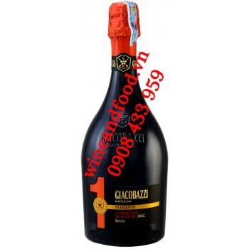 Rượu vang nổ Giacobazzi 1 Lambrusco Secco DOC 750ml