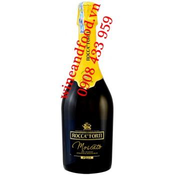 Rượu vang nổ Moscato Rocca Del Forti 750ml