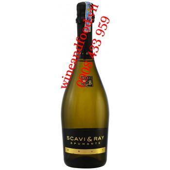 Rượu vang nổ Scavi & Ray Spumante Brut 750ml