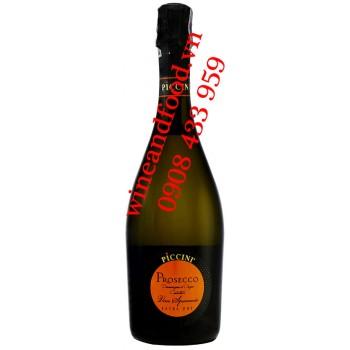 Rượu vang Prosecco Piccini Extra Dry DOC 750ml