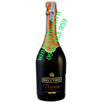 Rượu vang Prosecco Rocca Del Forti Brut DOC 750ml