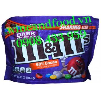 Kẹo Socola đen M&M Sharing Size 286g3