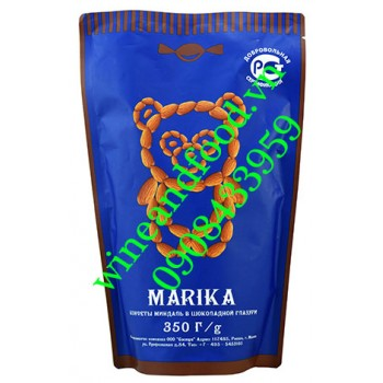 Kẹo socola trắng hạnh nhân Marika 350g