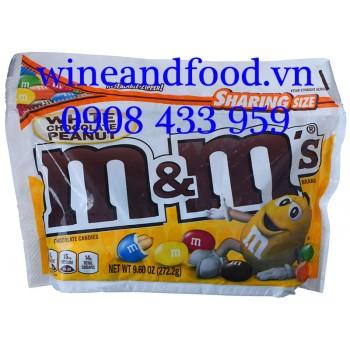 Kẹo socola trắng nhân đậu phộng M&M Sharing Size 272g2