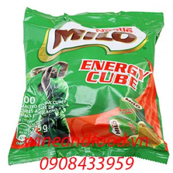 Milo viên Energy Cube bịch 100 viên