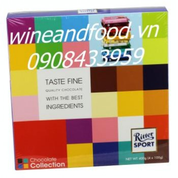 Socola Collection Ritter Sport 400g