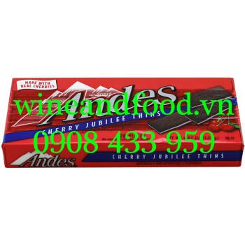 Socola Andes Cherry Jubile Thins 132g