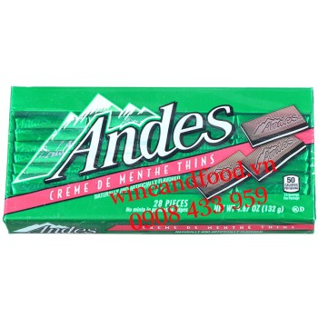 Socola Cream bạc hà Andes 132g